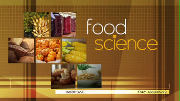 Food Science After Effects Template
