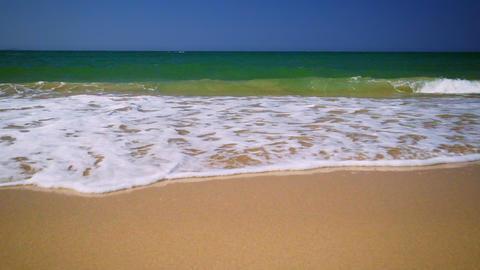 Amazing sunny day at tropical ocean beach. Myanmar (Burma) travel Footage