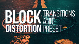 Block Transitions and Preset Premiere Proテンプレート