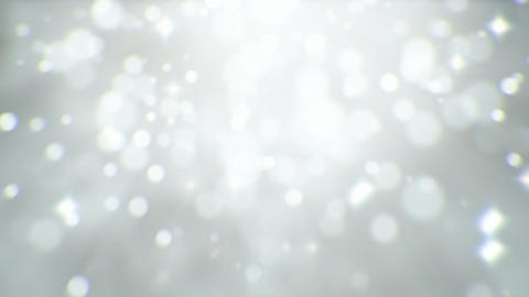 Light particles abstract background seamless loop CG動画素材