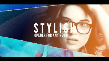 Photo Opener After Effects Template