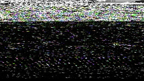 VHS noise Animation