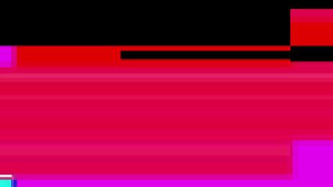 Multicolor glitch Animation