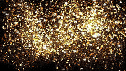 Gold Particles Background Bild