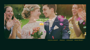 Beautiful wedding After Effects Template