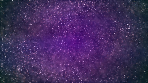 HD Loopable Background with nice glowing purple dust Animation