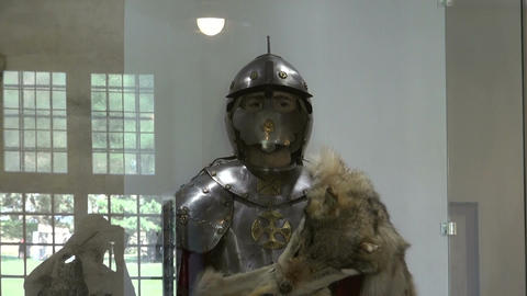 medieval knight in armour Archivo