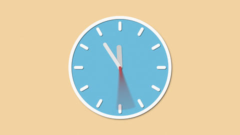 Clock stop Animation