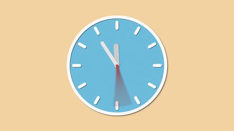 Clock stop Animation