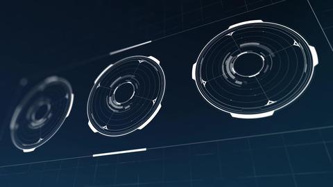 Hud circle animation Animation