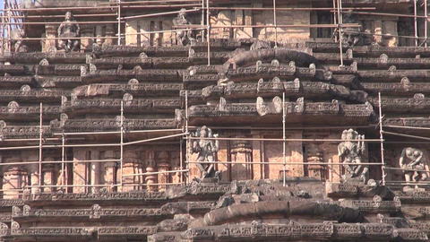 world heritage Konark sun temple, India Footage