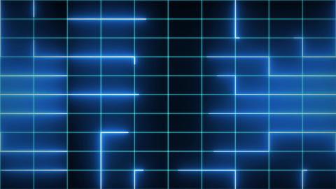 Tron neon lines CG動画