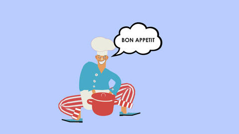 Bon Appetit 애니메이션