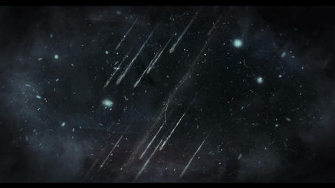 Meteor footage 2 Animation