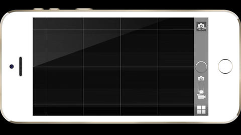 Interface Overlays Effects iPhone White Animation