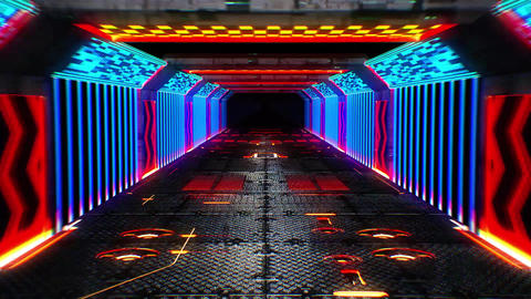 [alt video] Tunnel VJ LOOP no2