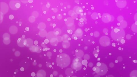 Magenta pink bokeh background Animation
