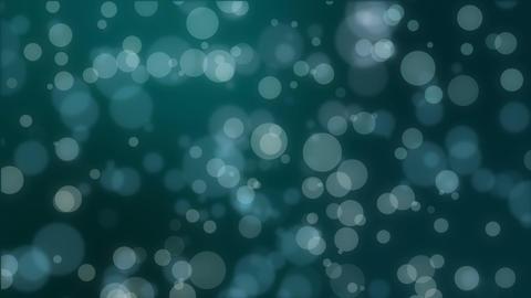 Magical dark teal glowing bokeh background Stock Video Footage