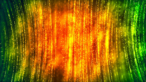 HD Loopable Background with nice orange abstract Animation