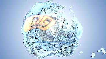Spiral Liquid Logo Plantilla de After Effects