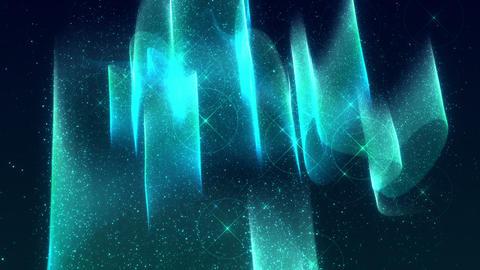 SHA Blue Aurora Image Effects CG動画