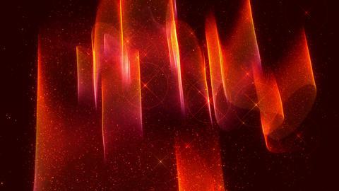 SHA Red Aurora Image Effects Animation