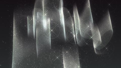 SHA White Aurora Image Effects Animation