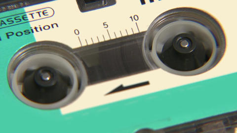 Tape Recorder Close Up Live Action