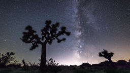 Nighttime Milky Way Time Lapse Footage