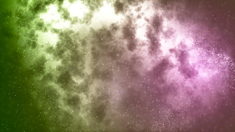 HD Loopable Background with nice abstract star nebula Animation