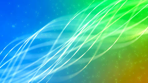 HD Loopable Background with nice abstract glowing lines Animation