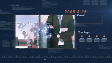 Enterprise History Timeline cs6 After Effects Template