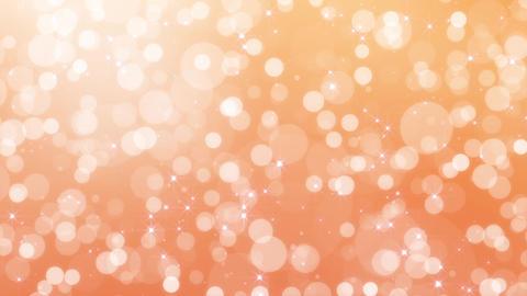 particle, polka dot, loop, orange CG動画