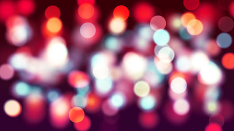 HD Loopable Background with nice red bokeh Animation