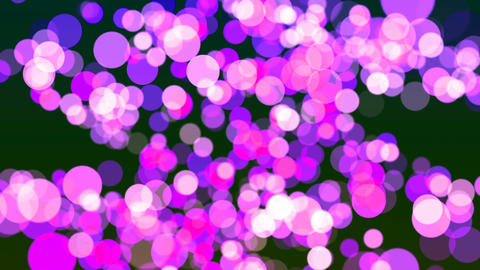 HD Loopable Background with nice magenta bokeh Animation