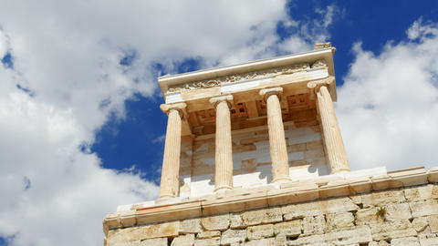 Acropolis, Athens, Greece, Timelapse, 4k Footage