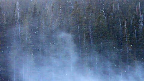 Rocky Mountain National Park Blizzard Footage
