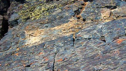 Volcanic Rock in Idaho Footage