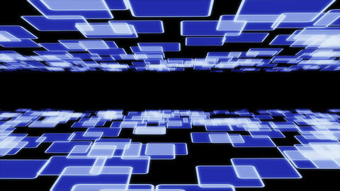 abstract tile blue P 5 1 Animation