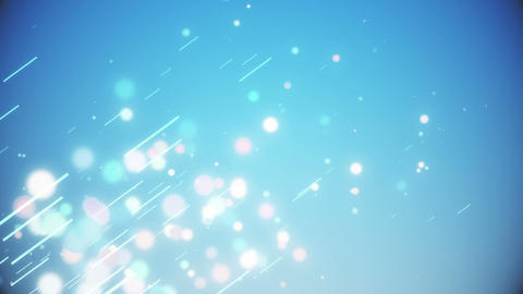abstract particle line image light colorful 1 CG動画素材