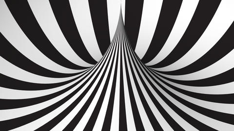 Abstract background with black and white geometric shape Animation