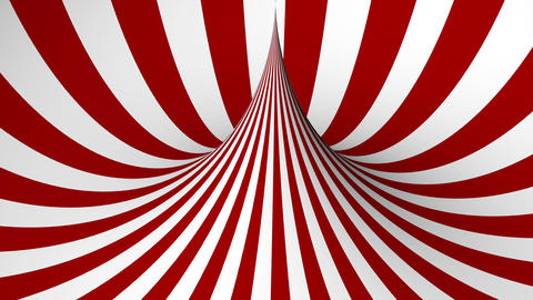 Abstract background with red and white geometric shape Animation