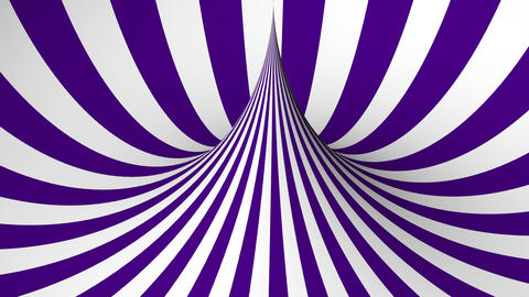 Abstract background with purple and white geometric shape Animation