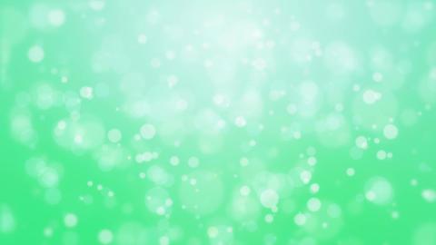 Green glowing bokeh background Animation