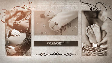 Family Album Of Memories After Effects Templates