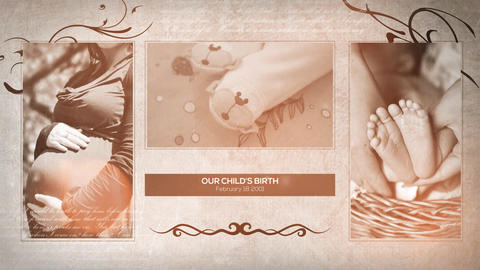 Family Album Of Memories After Effects Template