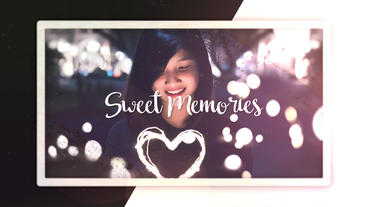 Sweet Memories Premiere Pro Template