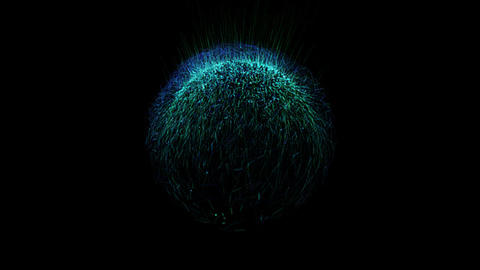 Bushy ball Effects 01 After Effects Template