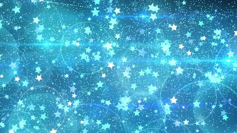 Rebound particle star bl CG動画