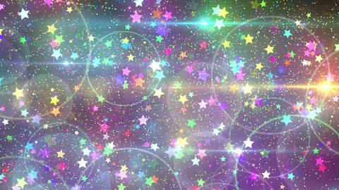 Rebound particle star rbw CG動画